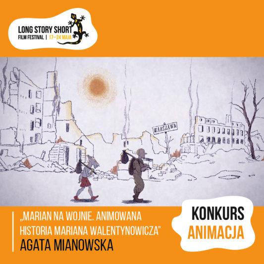 Marian na wojnie. Animowana historia Mariana Walentynowicza